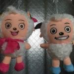 中国代表のアニメキャラクター喜羊羊と美羊羊