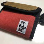 仕事用としてもオススメなCHUMS(チャムス)の布製財布