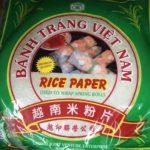 ベトナム定番料理、生春巻きに必須のライスペーパー
